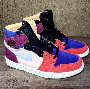online store bea08 fab21 Nike Air Jordan 1 High OG Court Lux Aleali May NE NWT